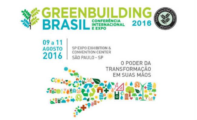 Greenbuilding Brasil 2016: maior evento de construção sustentável