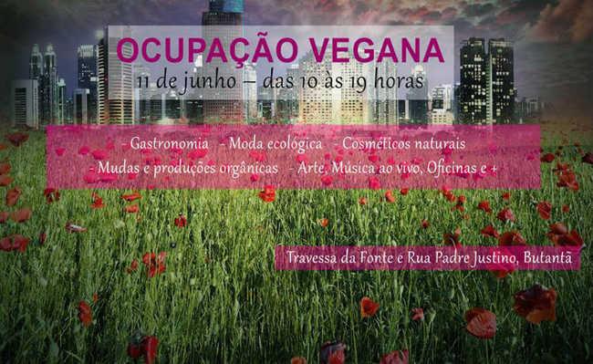 Feira vegana oferece comida orgânica, música, cerveja artesanal, oficinas gratuitas e muito mais