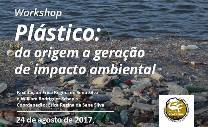 Workshop em São Paulo traz reflexão sobre origem, pós consumo e impactos do plástico