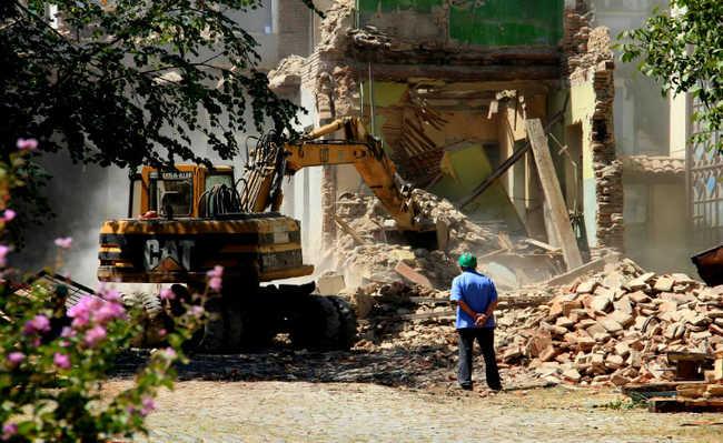 obra, demolição, resíduos sólidos, concreto