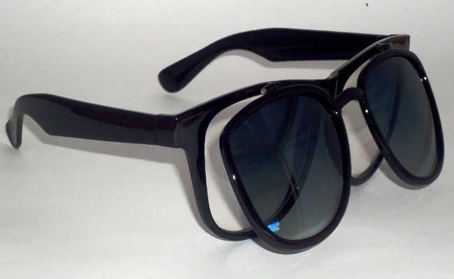 As armações dos óculos podem ser recicláveis, a lente nem tanto
