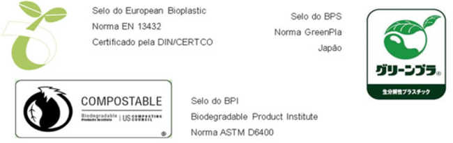 Selo do European Bioplastic