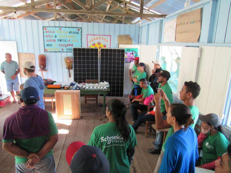 Energia solar na Amazônia